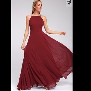 LuLus Mythical Kind of Love maxi dress
